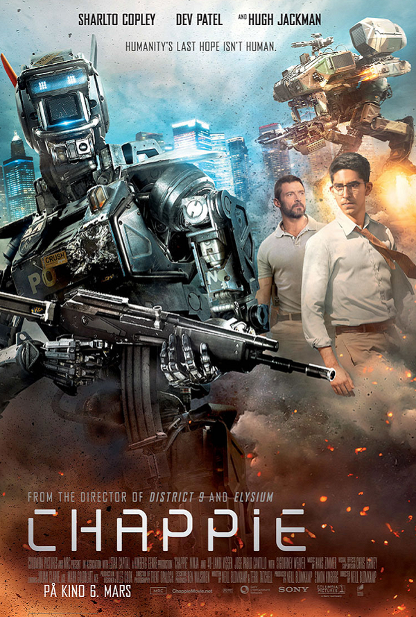 Chappie VUDU HD or iTunes HD via Movies Anywhere