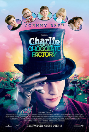 Charlie and the Chocolate Factory UV HD or iTunes HD via Movies Anywhere