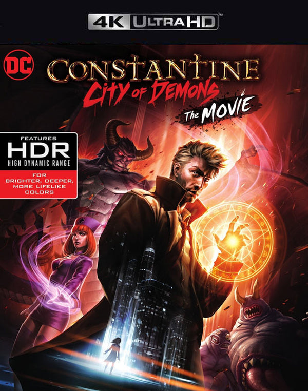 Constantine: City of Demons MA FandangoNow iTunes 4K