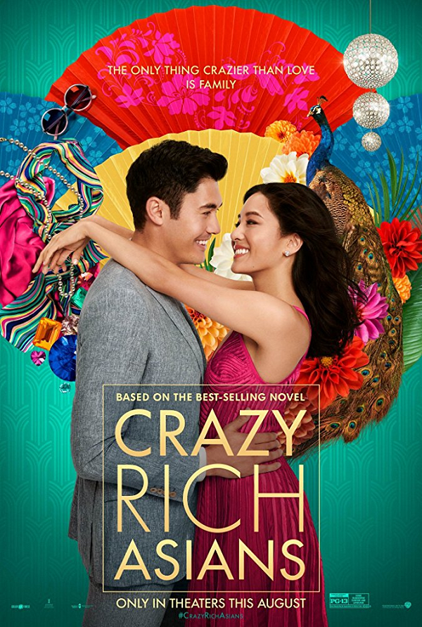 Crazy Rich Asians VUDU HD or iTunes HD via Movies Anywhere