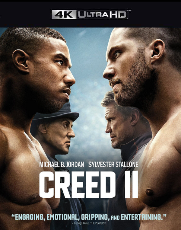 Creed II VUDU 4K