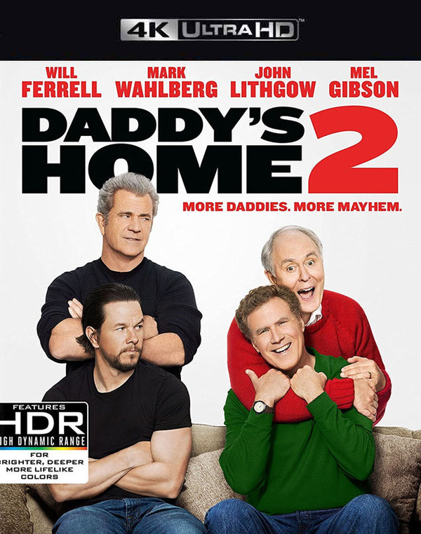 Daddy's Home 2 UV 4K