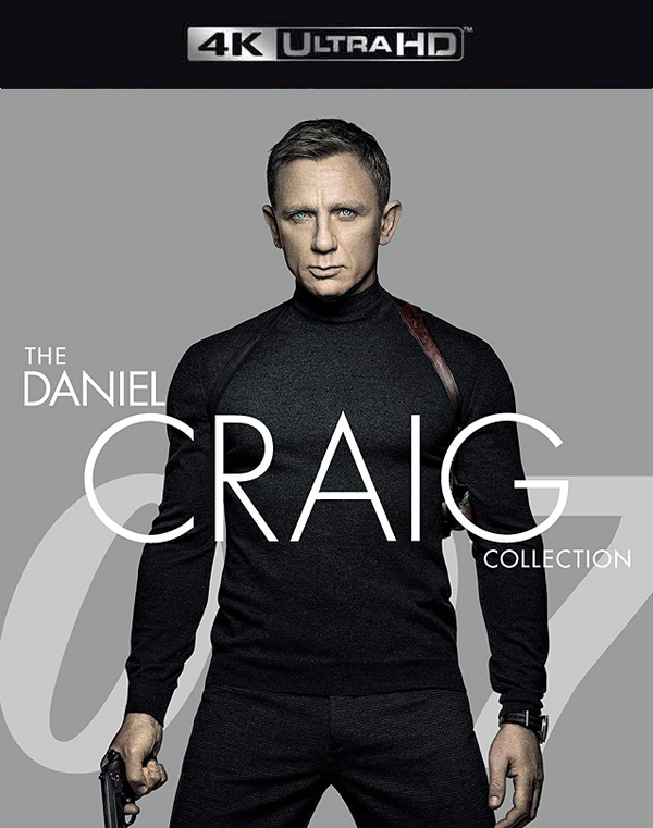James Bond: Daniel Craig Collection VUDU 4K