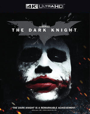 The Dark Knight VUDU 4K and iTunes 4K via MA