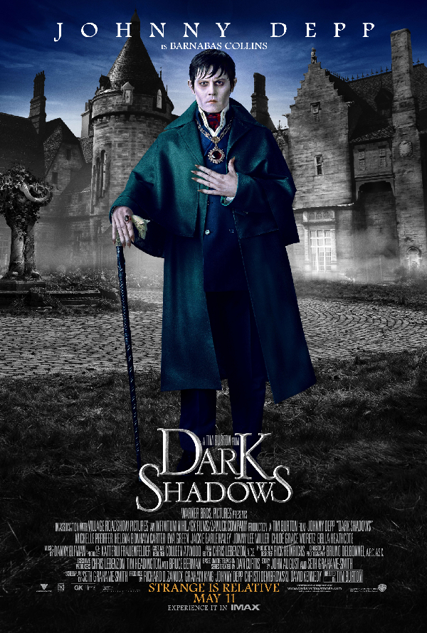 Dark Shadows VUDU HD or iTunes HD via Movies Anywhere