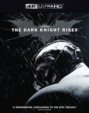 The Dark Knight Rises VUDU 4K and iTunes 4K via MA