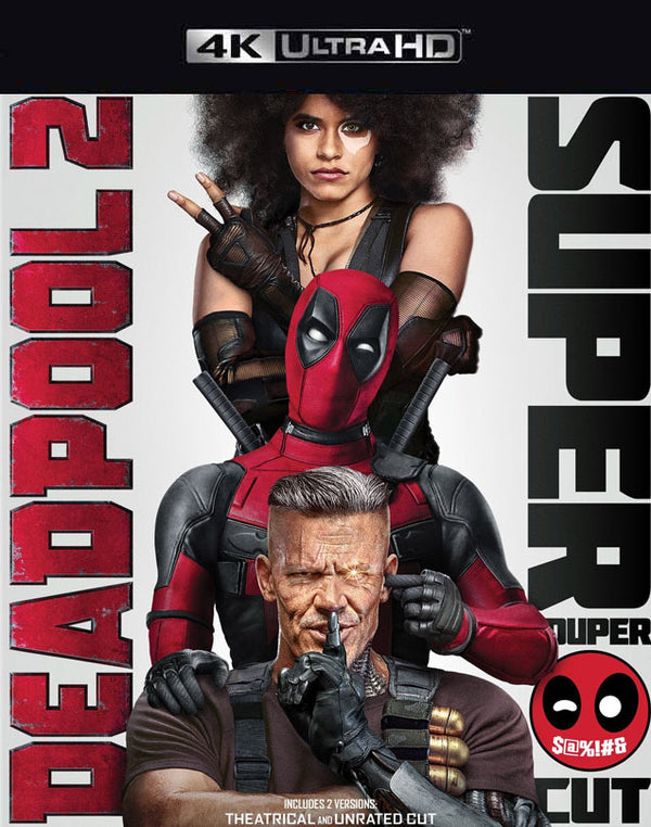 Deadpool 2 Super Duper Cut VUDU 4K iTunes 4K via MA