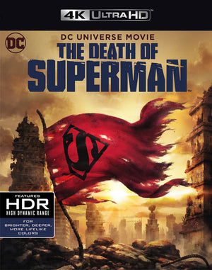 The Death of Superman FandangoNow 4K or iTunes 4K via Movies Anywhere