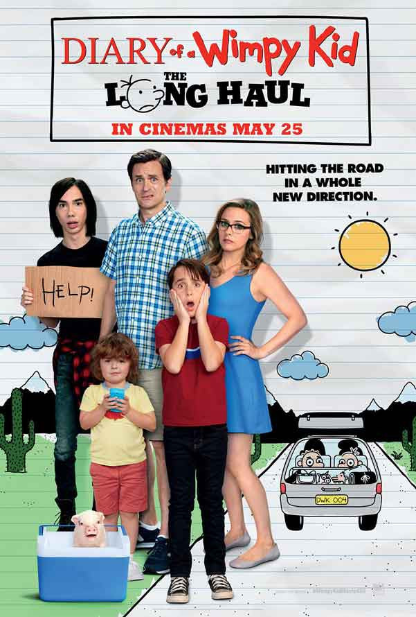 Diary Of A Wimpy Kid The Long Haul Uv Hd Or Itunes Hd Hd Movie Kid Diary Wimpy