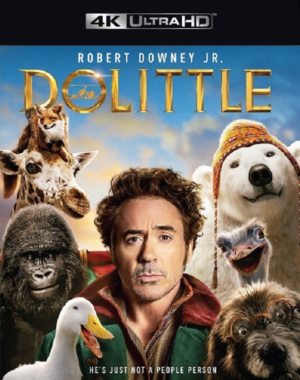 Dolittle VUDU 4K or iTunes 4K via Movies Anywhere