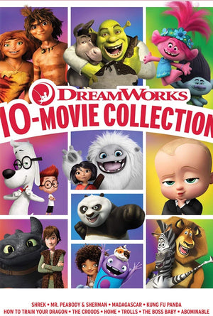 Dreamworks 10-Movie Collection MA VUDU HD iTunes HD