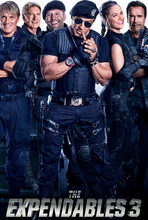 The Expendables 3 VUDU HD or iTunes 4K