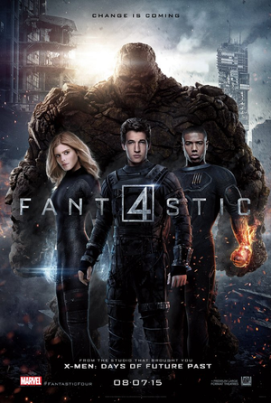 Fantastic Four (2015) VUDU HD or iTunes 4K