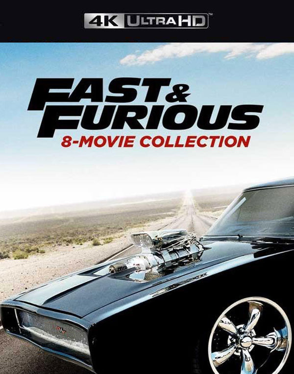 Fast and The Furious 8-Movie Collection VUDU 4K or iTunes 4K Via Movies Anywhere
