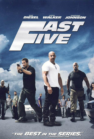 Fast Five Extended Edition VUDU HD