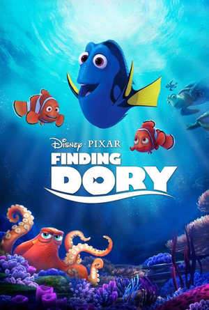 Finding Dory MA VUDU iTUNES HD
