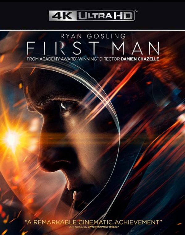 First Man VUDU 4K or iTunes 4K via Movies Anywhere