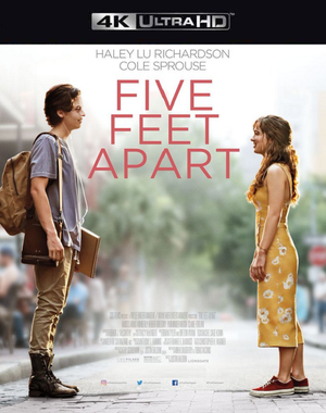 Five Feet Apart VUDU 4K or iTunes 4K