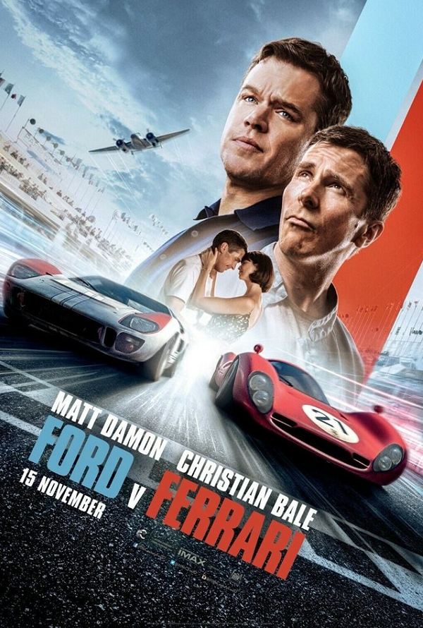 Ford v Ferrari VUDU HD or iTunes HD via MA
