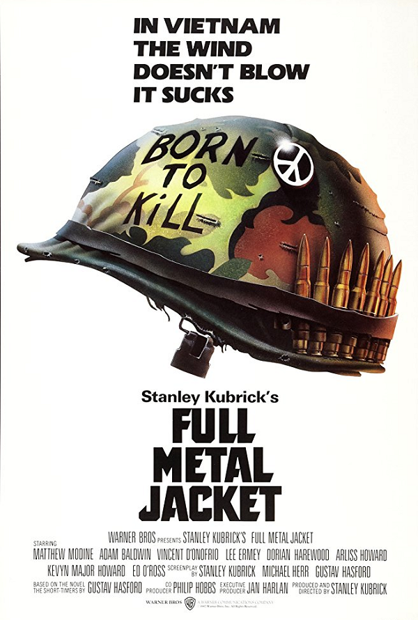 Full Metal Jacket UV HD or iTunes HD via Movies Anywhere