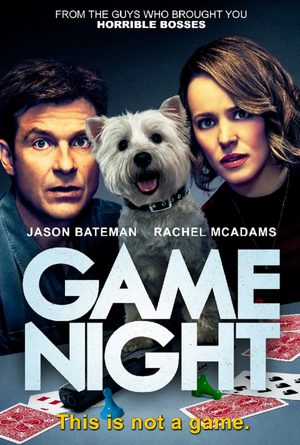 Game Night VUDU HD or iTunes HD via Movies Anywhere