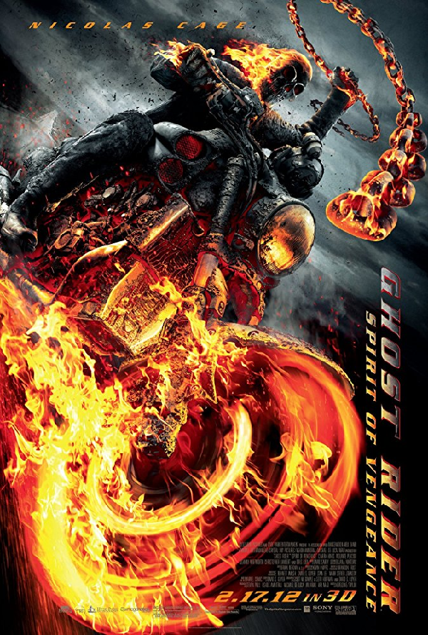 Ghost Rider Spirit of Vengeance VUDU HD or iTunes HD via Movies Anywhere