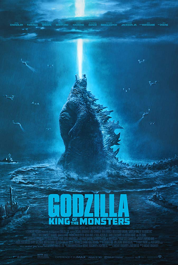 Godzilla King of Monsters VUDU HD or iTunes HD via MA