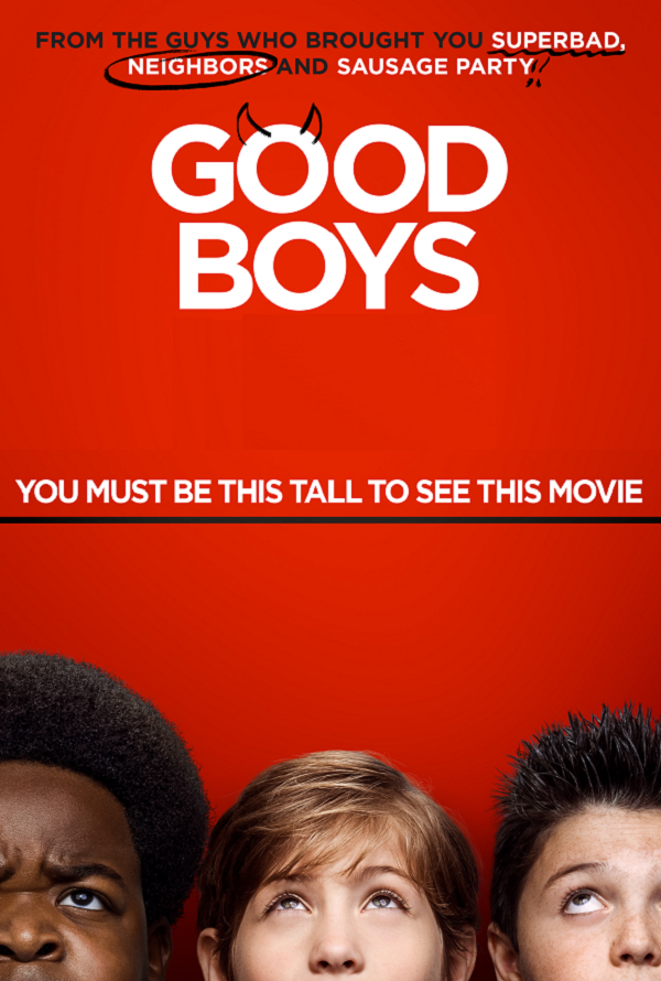 Good Boys VUDU HD or iTunes HD via MA