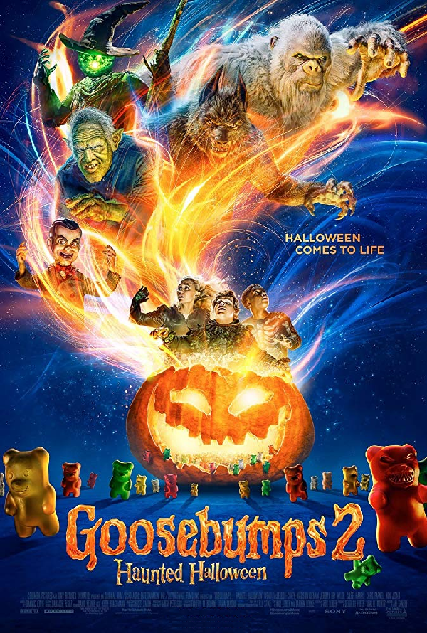 Goosebumps 2 Haunted Halloween VUDU HD or iTunes HD via Movies Anywhere