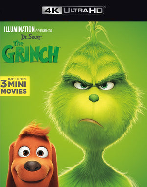 The Grinch VUDU 4K or iTunes 4K via Movies Anywhere