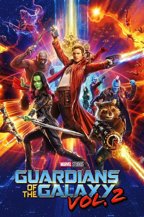 Guardians of the Galaxy Vol. 2 MA VUDU iTUNES HD
