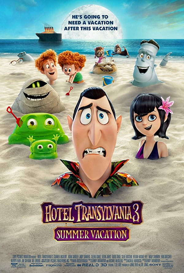 Hotel Transylvania 3 VUDU HD or iTunes HD via Movies Anywhere