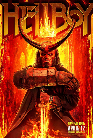 Hellboy 2019 VUDU HD *REDEEM JULY 23