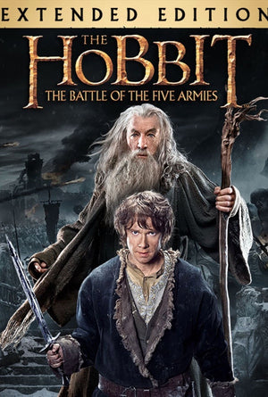 The Hobbit The Battle of the Five Armies Extended Edition MA VUDU HD iTunes HD