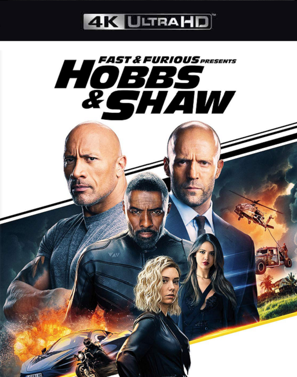 Fast and Furious Presents Hobbs and Shaw VUDU 4K or iTunes 4K via MA