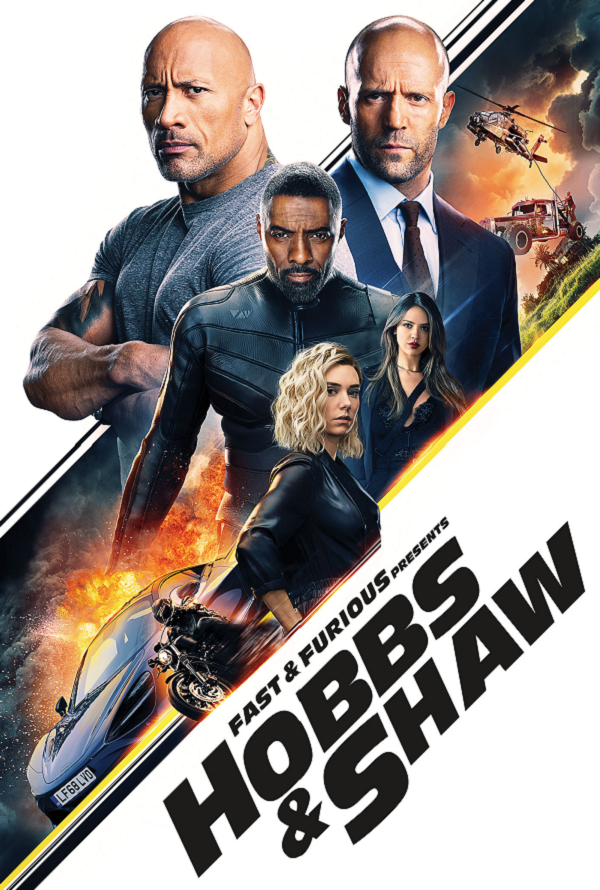 Fast and Furious Hobbs and Shaw VUDU HD or iTunes HD via MA