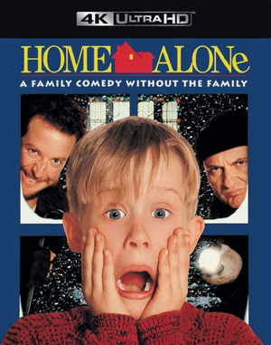 Home Alone VUDU 4K through iTunes 4K via MA