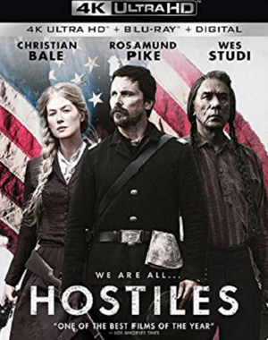 Hostiles 4K Must Redeem at FandangoNow or iTunes 4K