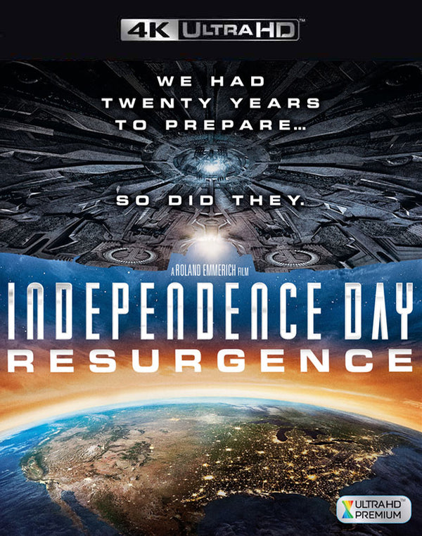 Independence Day Resurgence VUDU 4K through iTunes 4K