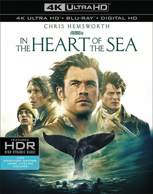 In the Heart of the Sea UV 4K or iTunes 4K via Movies Anywhere