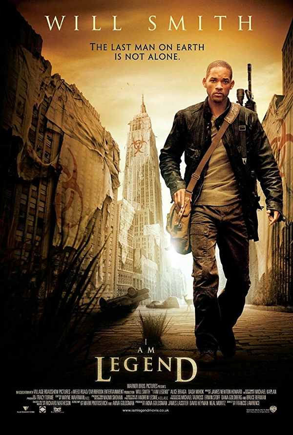 I Am Legend UV HD or iTunes HD via Movies Anywhere