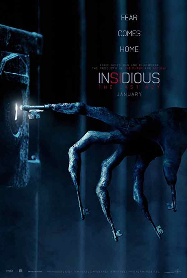 Insidious The Last Key VUDU HD or iTunes HD via Movies Anywhere