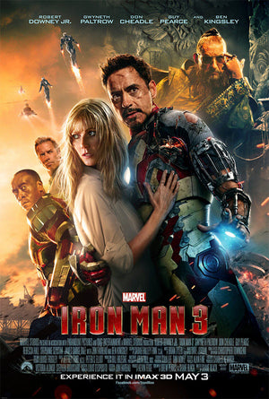 Iron Man 3 MA VUDU iTunes HD