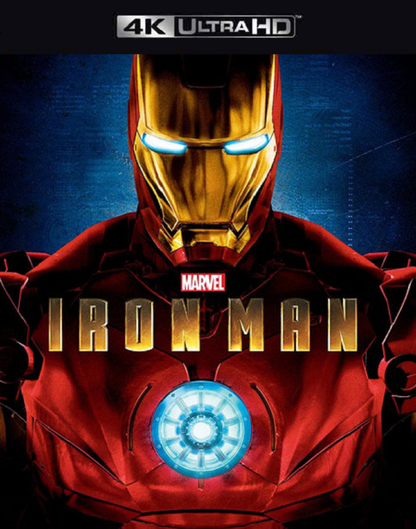 Iron Man MA 4K VUDU 4K iTunes 4K