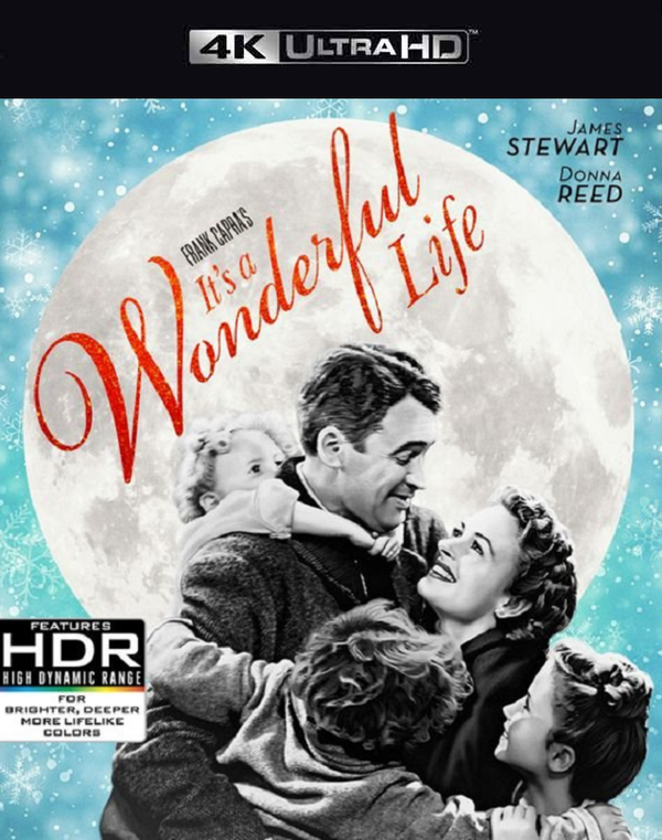 It's a Wonderful Life VUDU 4K