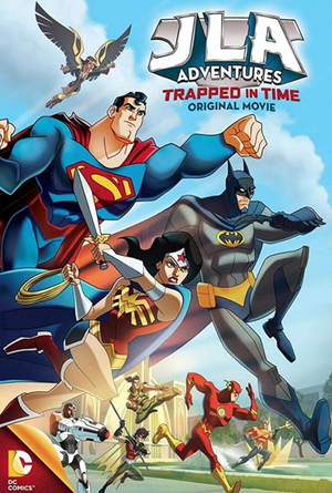 Justice League Adventures Trapped in Time VUDU HD or iTunes HD via Movies Anywhere