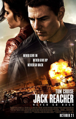 Jack Reacher Never Go Back UV HD