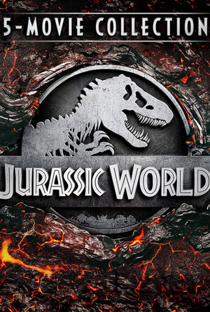 Jurassic World 5-Movie Collection VUDU HD  or iTunes HD via Movies Anywhere