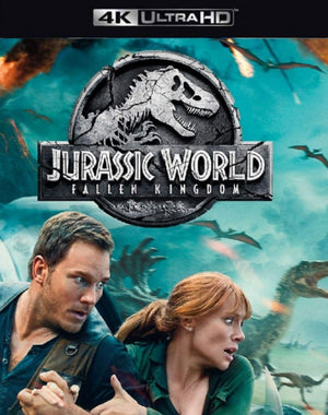 Jurassic World Fallen Kingdom VUDU 4K iTunes 4K via Movies Anywhere