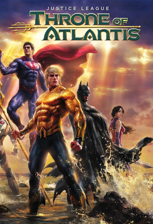 Justice League: Throne of Atlantis VUDU HD or iTunes HD via Movies Anywhere